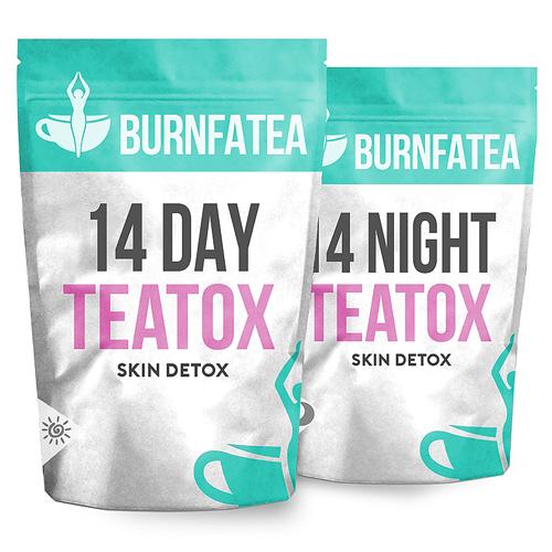 Burnfatea 14 Day Skin Teatox